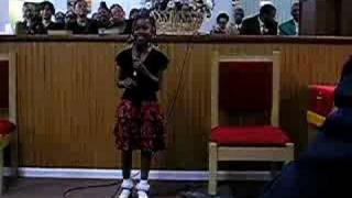 Kid Singing-Precious Lamb of God