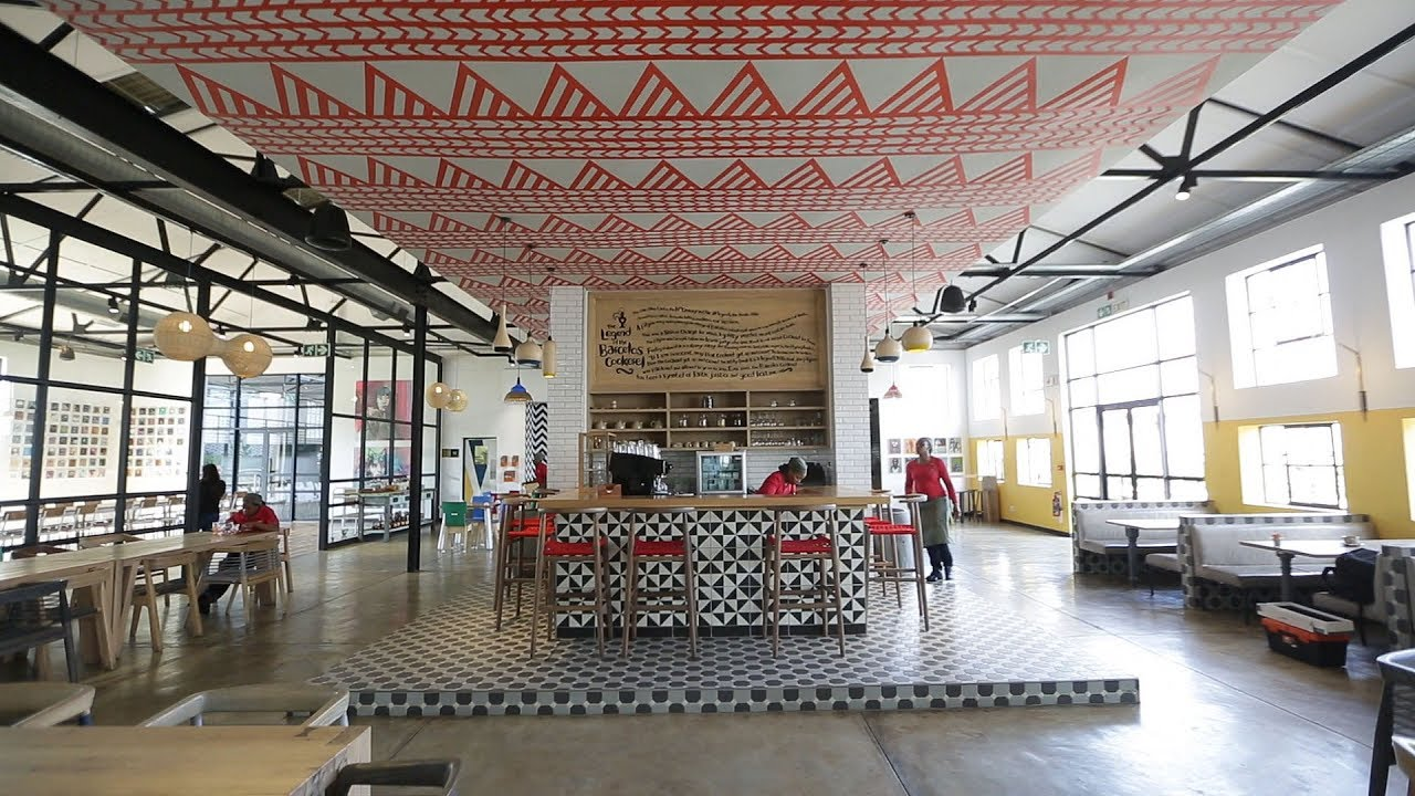 Charmant Raw Projects: Nandos Central Kitchen.