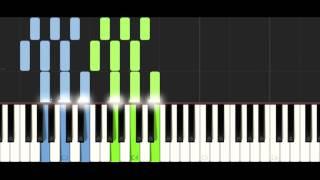 Tobu & Marcus Mouya - Running Away - PIANO TUTORIAL