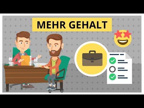 Gehaltsverhandlung: Schritt-für-Schritt Anleitung für mehr Gehalt (Gehaltserhöhung Gespräch)