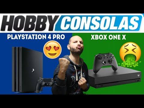 ¡¡¡PS4 PRO ES MIL VECES MEJOR QUE XBOX ONE X!!! - Sasel - hobby consolas - español