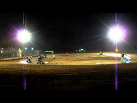 Texoma motor speedway part 2 dirt cup 500cc feature  9-22-2012