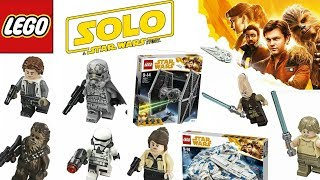 "LEGO ""Solo: A Star Wars Story"" Sets Descriptions and Quality Images! Plus More Sets!"