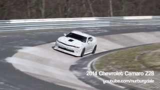 2014 Chevrolet Camaro Z28 testing at the Nürburgring Nordschleife
