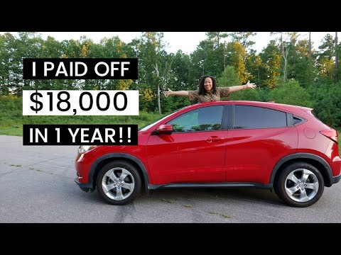 PAY OFF CAR LOAN EARLY | PAY OFF DEBT FAST | HOW TO PAY OFF DEBT FAST | Millennials In Debt