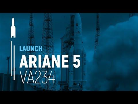 Arianespace Flight VA234 / Star One D1 and JCSAT-15