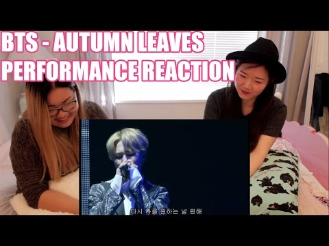 #BTS #방탄소년단 -  AUTUMN LEAVES 고엽 LIVE PERFORMANCE REACTION | emi feat. minji