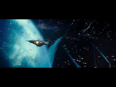 Space Battle over Planet Mule