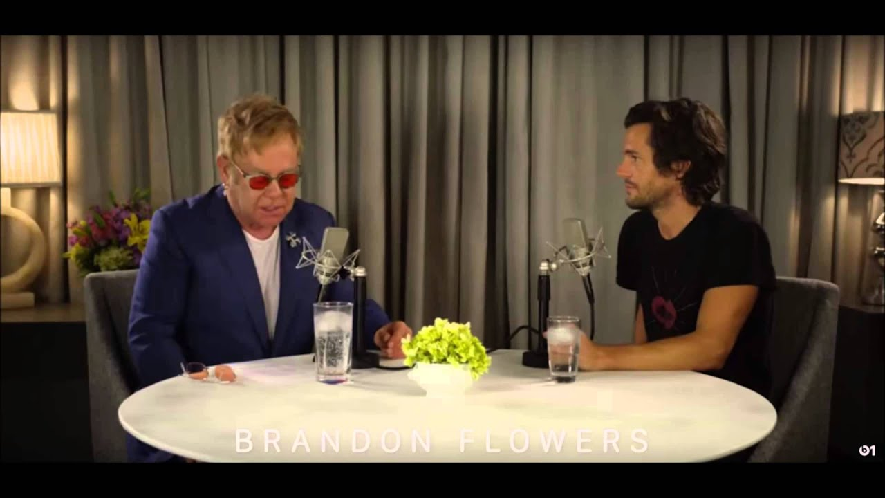 Download Elton John speaks with Brandon Flowers as part of his first Beats 1 Rocket Hour for Apple Music