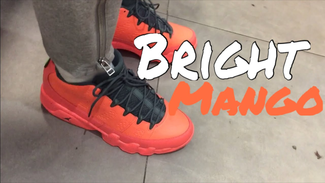 newest ac609 137fa Air Jordan 9 Low Bright Mango | Quick On-Feet
