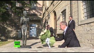 Лавров в Сан-Марино возложил цветы к памятнику жертвам теракта в Беслане