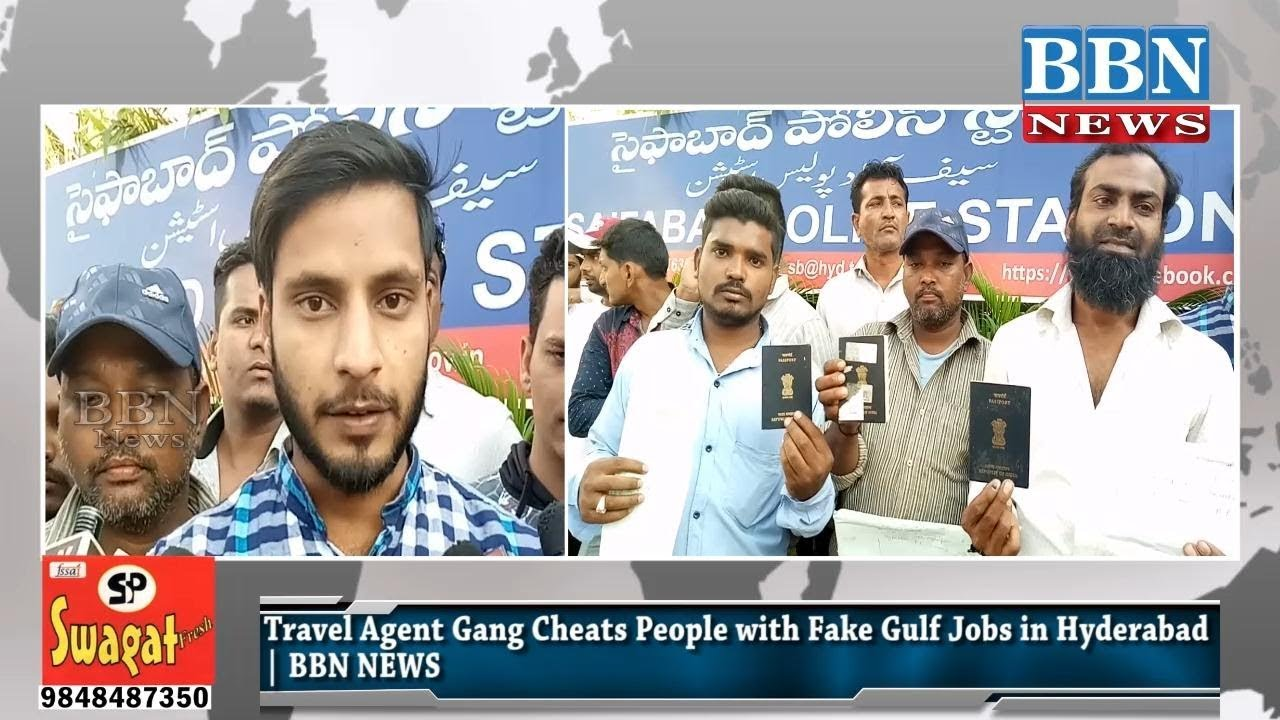 Travel Agent Gang Cheats People with Fake Gulf Jobs in Hyderabad