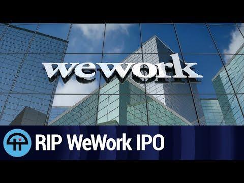 WeWork IPO Looks Dead