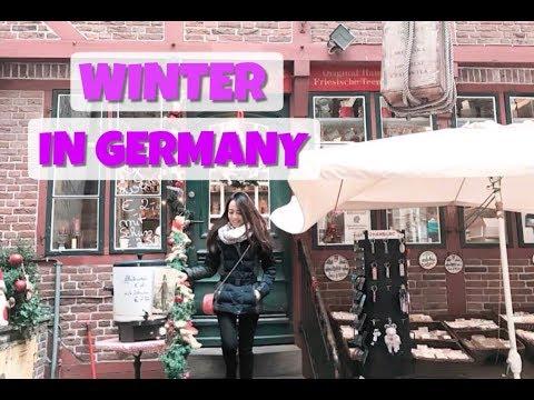 Musim Dingin Travel ke German Vlog | FRANKFURT | HAMBURG | DOHA, Qatar| Jakarta, INDONESIA