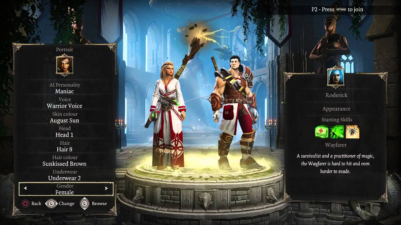 1 Divinity Original Sin Ee Tactician Mode Intro And First Fight Youtube