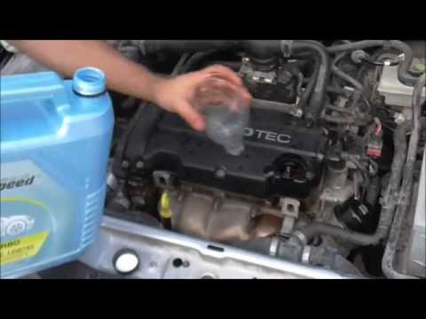 2005 Opel Astra 1 4 cc H How to change engine oil and filter Αλλαγή λαδιού κινητήρα και φίλτρου