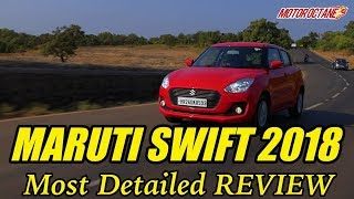 Maruti Swift 2018 Review in Hindi | Variants Explained with Price | MotorOctane