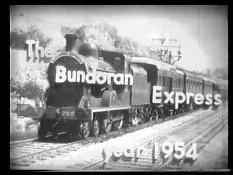 GNR(I) - 'Bundoran Express' train (1954)