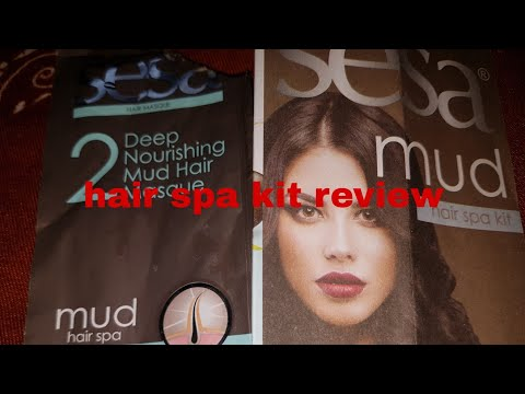 Sesa hair spa kit review/affordable spa kit /home hair spa at rs99