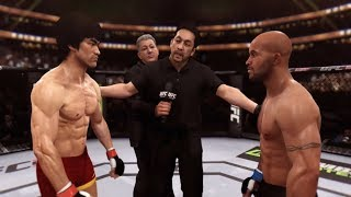 Bruce Lee vs. Demetrios Johnson (EA sports UFC) - CPU vs. CPU