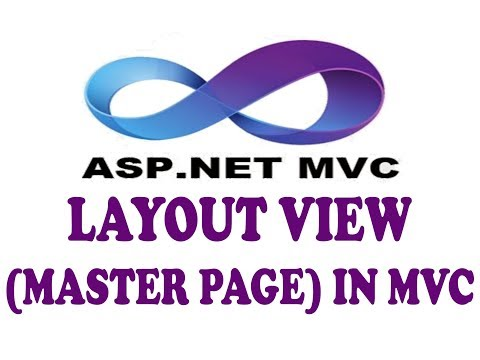 LAYOUT VIEW (MASTER PAGE) LAYOUT.CSHTML IN ASP.NET MVC (URDU / HINDI)