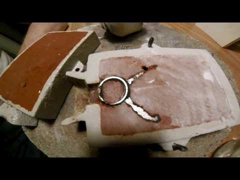 a prospectors gift  .casting a ring . start to finnish .