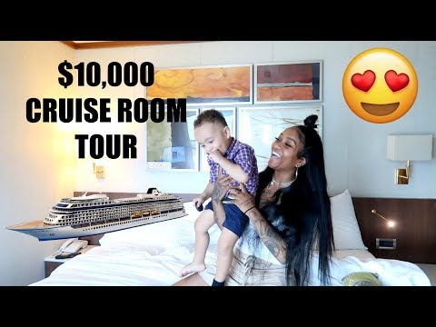 $10000 CRUISE ROOM TOUR *EXCLUSIVE*