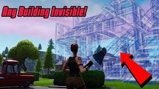 Make Fully Invisible Buildings In Fortnite (Wallhacks) Fortnite Glitches Saison 7 2019