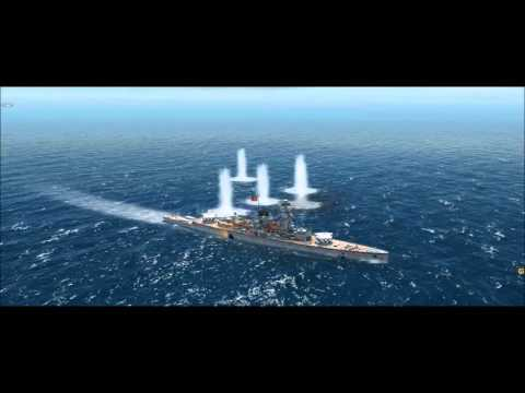 Atlantic Fleet - Battle of the River Plate (Gameplay & commentary)
