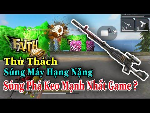 (FREEFIRE) Thử thách SÚNG TRƯỜNG HẠNG NẶNG lấy TOP1, Cây Súng Phá Keo Mạnh Nhất Game | Nam Lầy.