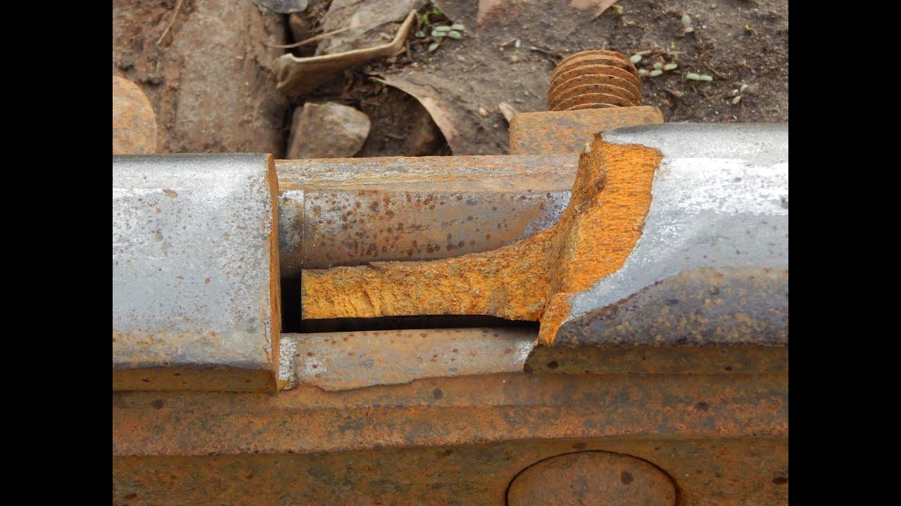 Missing Chunk of Train Track on Active Rail | Jason Asselin