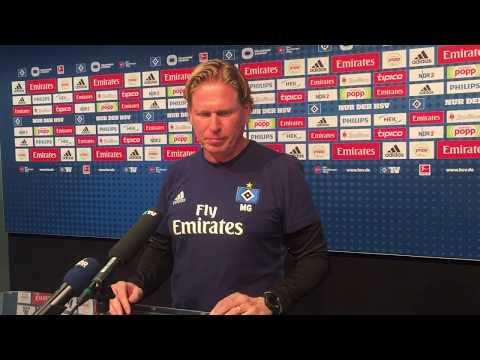 HSV-Trainer Gisdol nach der 0:2-Pleite in Hannover
