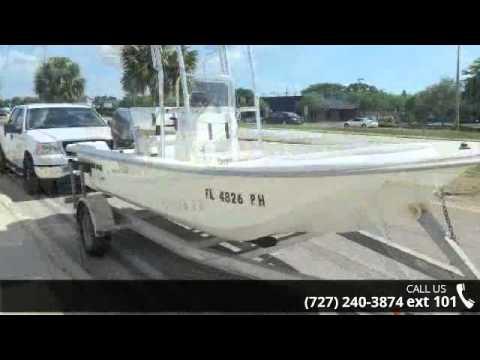 2009 Carolina Skiff JVX 18 CC  - Central Marine Service -...