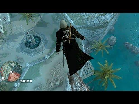 Assassin's Creed 4 Night Predator Free Roam and Combat
