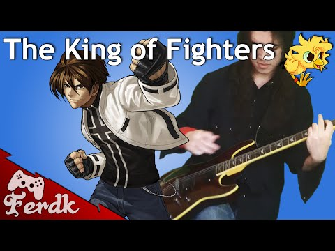 """The King of Fighters '99 - """"Tears (Kyo's Theme)"""" 【Metal Guitar Cover】 by Ferdk"""
