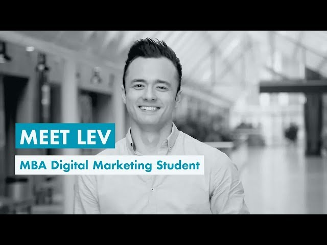 Meet Lev, MBA Digital Marketing Strategy Student at EMLV.