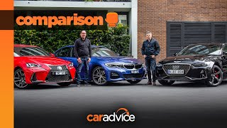 Genesis G70 takes on BMW 3 Series, Lexus IS | Premium sedan comparison | CarAdvice