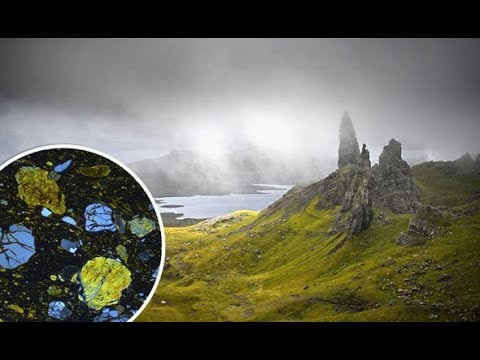 ALIEN minerals from 60million years ago discovered in Scotland in a shock UK first