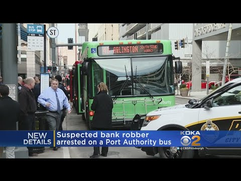Police Arrest Suspected Bank Robber On Bus