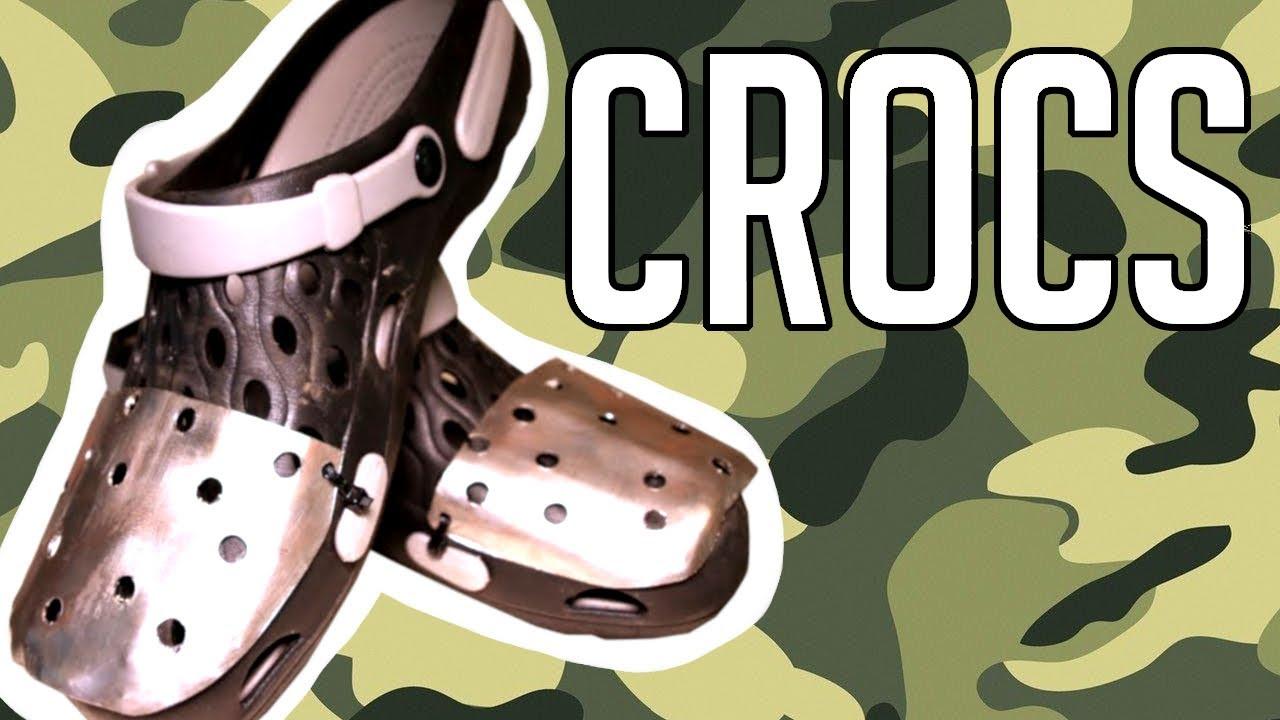 Making Steel-Toed Crocs! - YouTube
