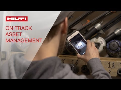 TESTIMONIAL about Hilti ON!Track Asset Management from One Source Building Services