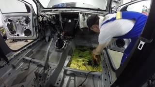 Как сделать из VW Polo премиум? Полная шумоизоляция