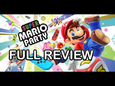 Complete review of every Mario party game in the series, does Super