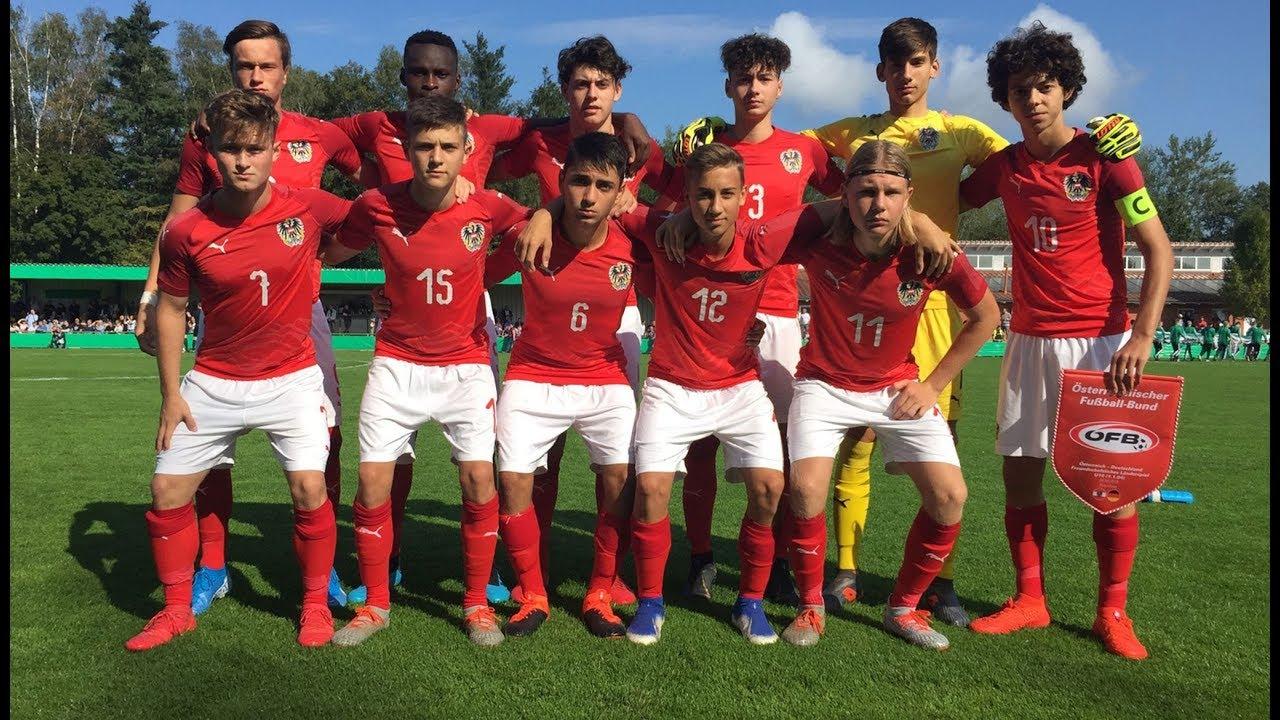 Friendly U16 Osterreich Vs Schweiz Youtube