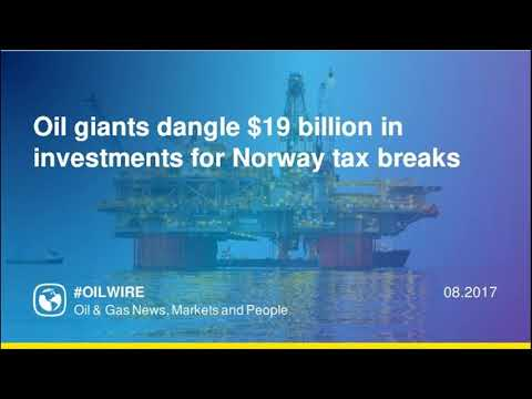 Oil giants dangle $19 billion in investments for Norway tax breaks