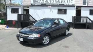 2001 Nissan Altima 2.4 GXE Vehicle Review