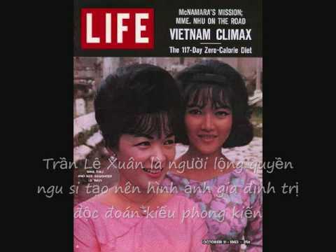 Madame Trần Lệ Xuân - Dictator Ngô Đình Nhu - cruel Dragon Lady