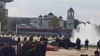 Vučić dočekao Erdogana ispred Palate Srbija