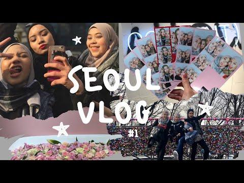 서울, South Korea Winter Trip 2017   VLOG #1