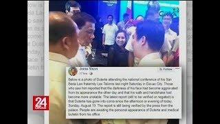 Alegasyon ni CPP Founding Chairman Sison na na-comatose si Pres. Duterte, itinanggi ng Malacañang